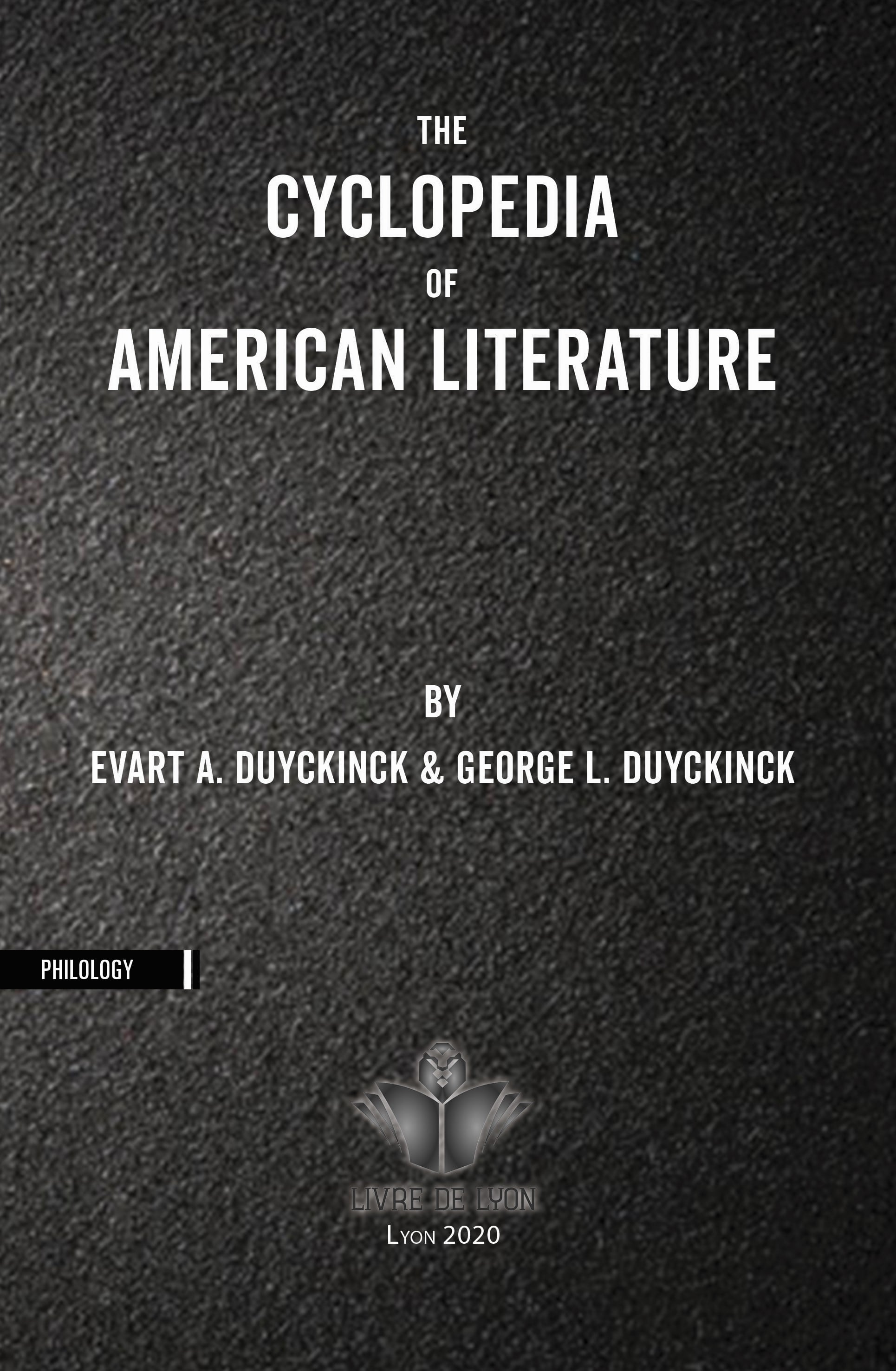 The Cyclopedia of American Literature